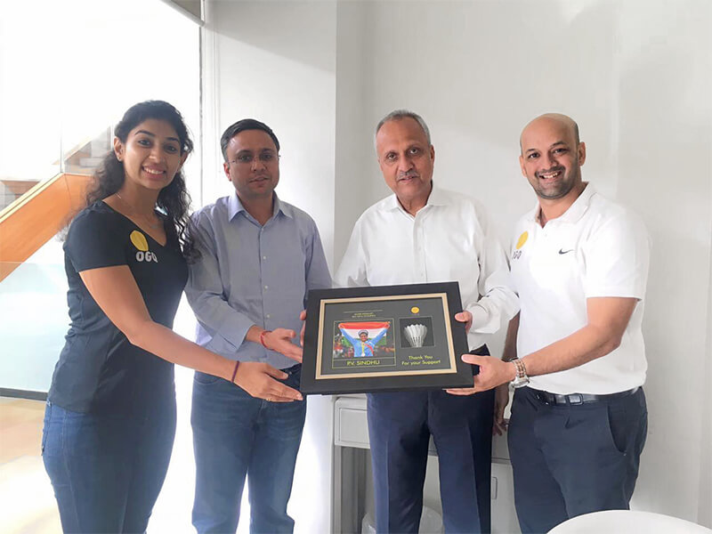 Bhartiya supports OGQ for Mission Tokyo 2020 and beyond