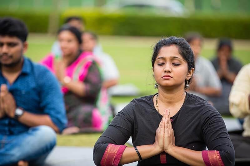 Bhartiya City Celebrates International Yoga Day