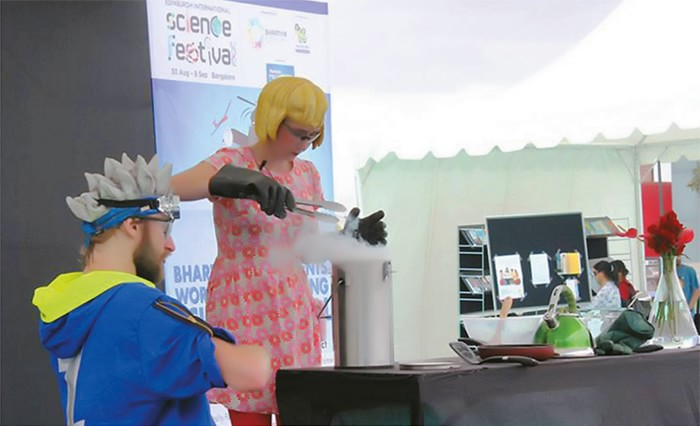 Edinburgh International Science Festival Bangalore