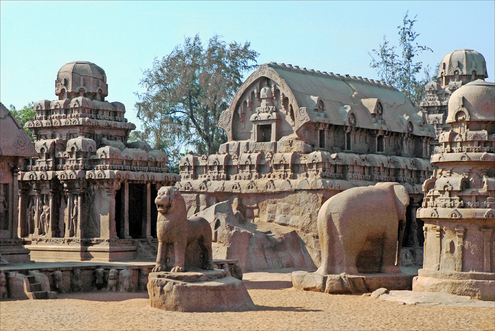 Mahabalipuram-carvings-bhartiya-city-