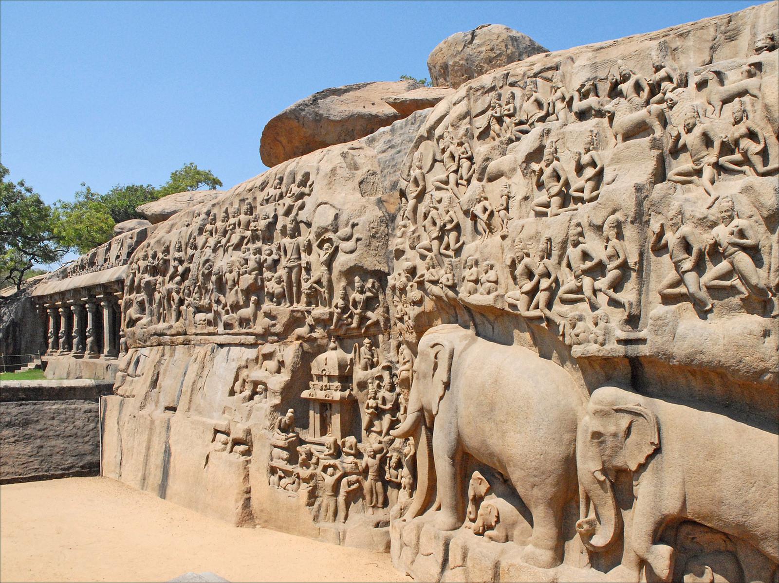 Mahabalipuram-stone-bhartiya-city-