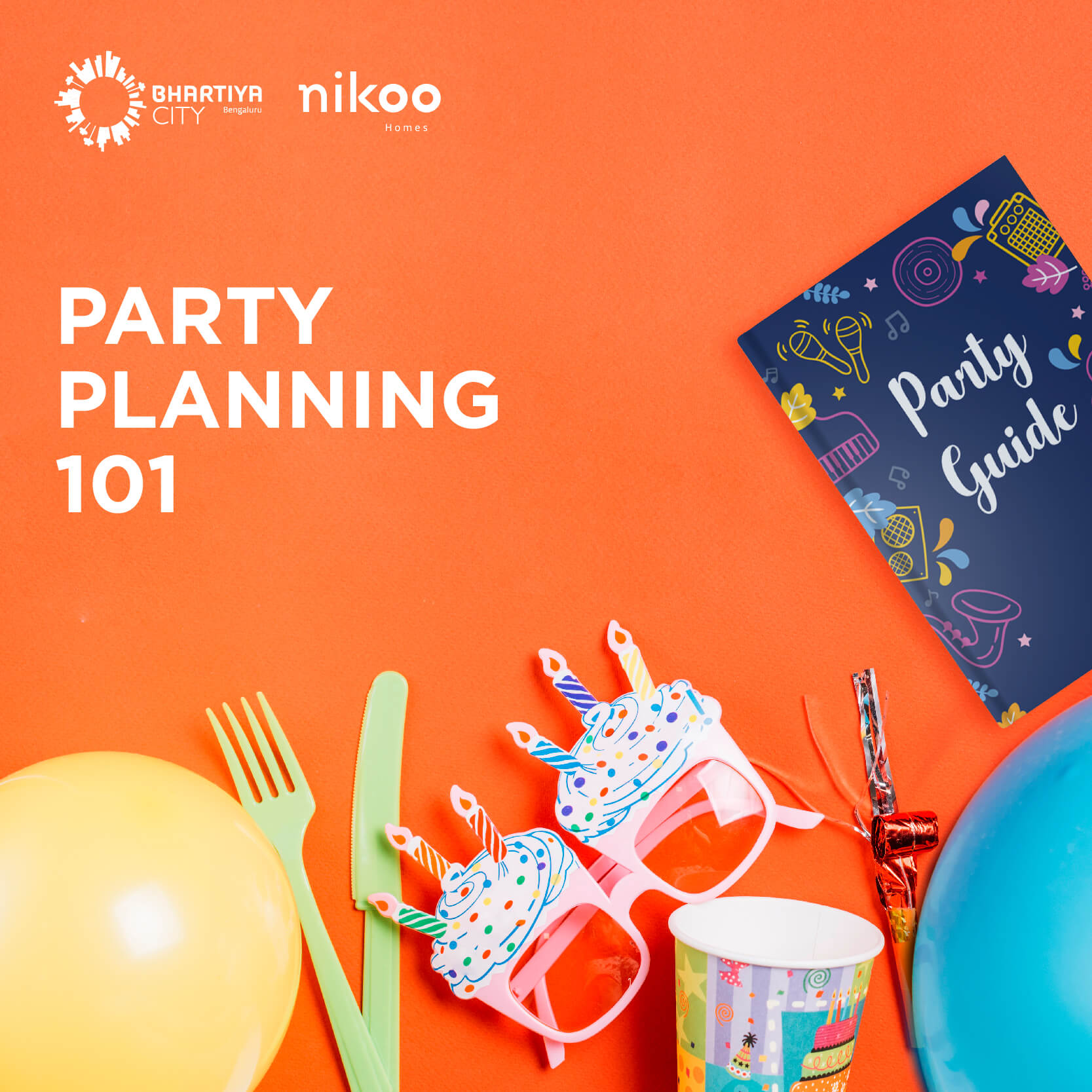 Party planning 101 — a step-by-step guide to throwing the perfect party, the easy way