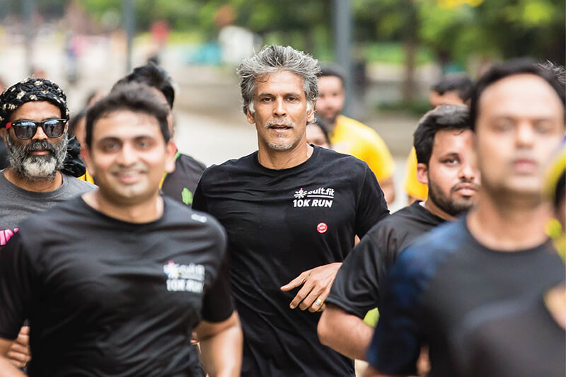 Bangalore runs with Milind Soman at Bhartiya City