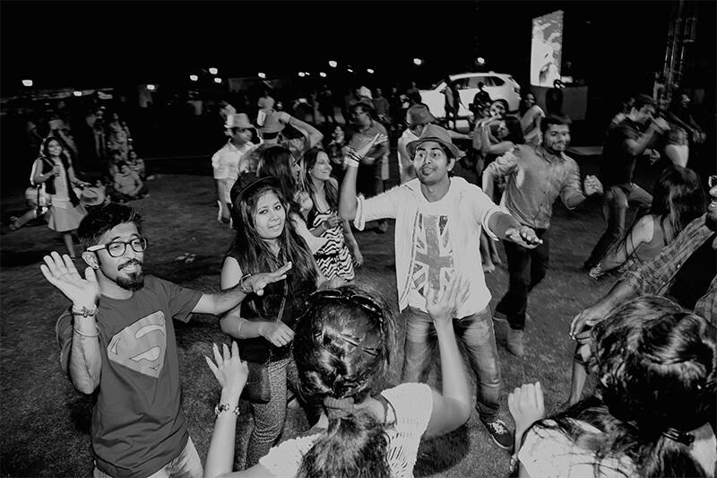 The Great Grover Wine Festival at Bhartiya City