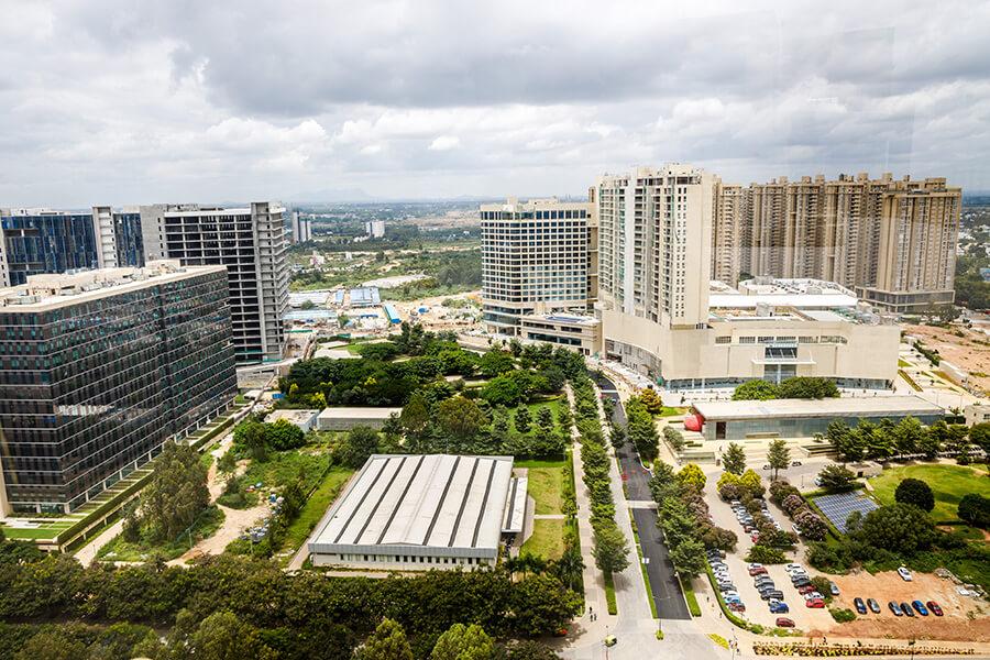 Bhartiya city view