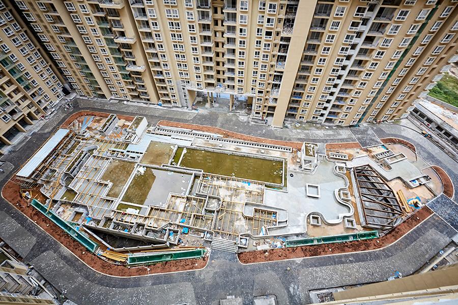 Block 7 Central Podium area Top